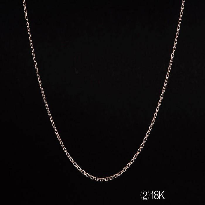 Tiaria tiaria 18k gold necklace top design 15d2 kalung emas wanita