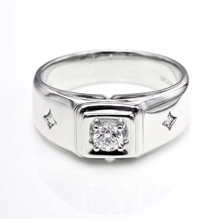 Tiaria dhtxhjz063 cincin emas berlian pria wanita