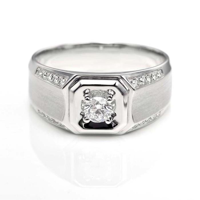 Tiaria dhtxhjz076 cincin emas berlian pria wanita