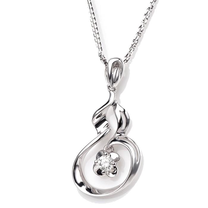 Tiaria pendant dakadz007 liontin kalung emas berlian