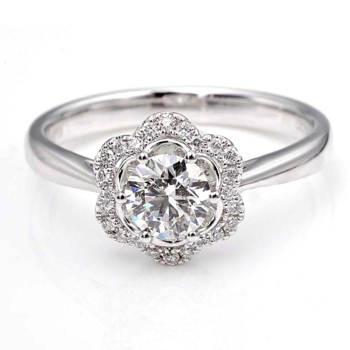 Tiaria dhtxhjz067 cincin tunangan emas berlian