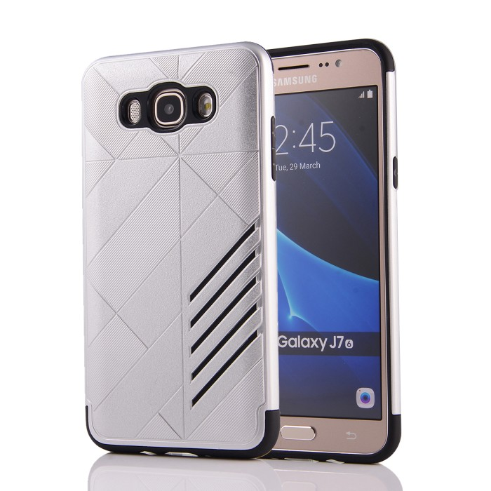 Jual Samsung Galaxy On7 2015 Dual Layer Armor Soft Case Cover Casing