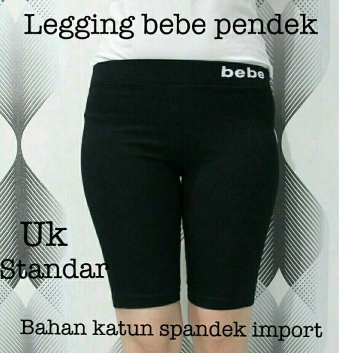 Jual Legging Bebe Pendek Celana Legging Standar Celana Legging Polos Murah Jakarta Barat Kaoss Katun Tokopedia