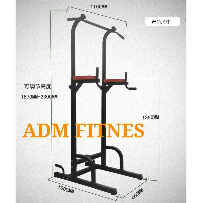 Gym Bagus Di Bandung: Jual Pull Up Bar, Chin Up, Dipping, Leg Raise, Push Up