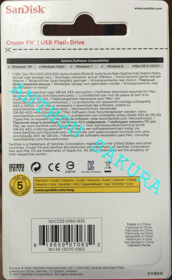 Jual Flashdisk Sandisk Cruzer Fit Cz33 16gb Garansi Resmi Original Usb