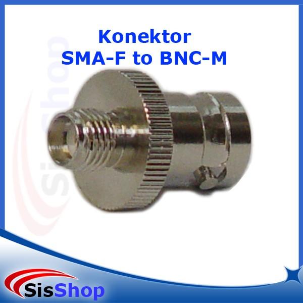 Konektor antena ht sma female to bnc female