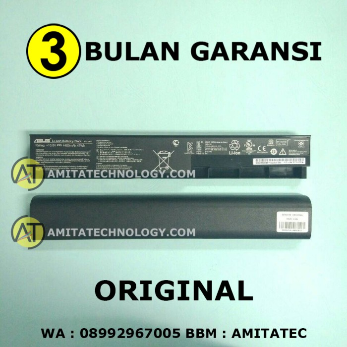 harga Baterai laptop original asus a32-x401 x401 Tokopedia.com