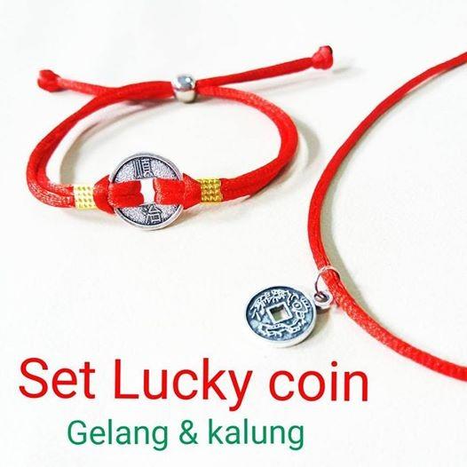 harga Set kalung gelang lucky coin Tokopedia.com