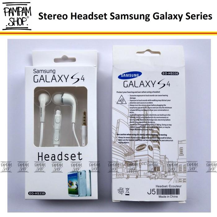 harga Stereo headset / handsfree samsung galaxy note 1 2 3 4 original oem Tokopedia.com