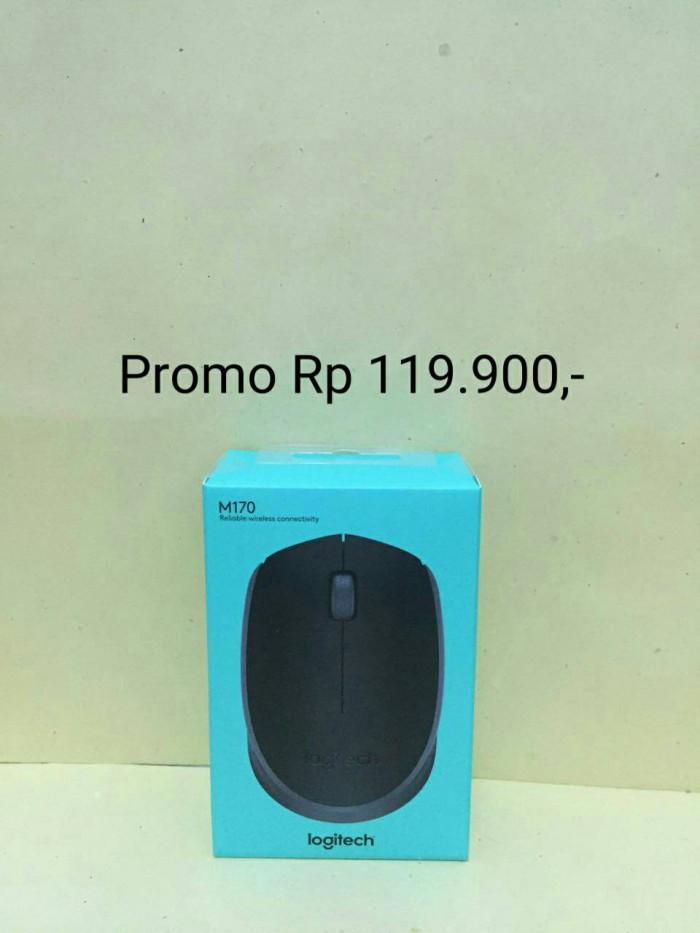 Foto Produk Mouse Wireless Logitech M165 NEW ORIGINAL 100% / M 165 Mouse Murah dari Raja Storage