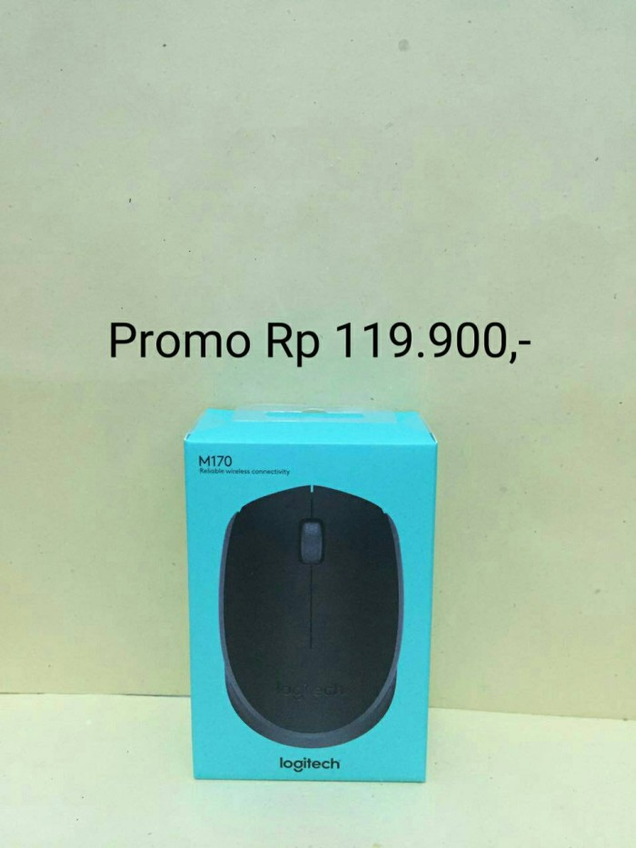 harga Mouse wireless logitech m165 new original 100% / mouse wireless murah Tokopedia.com