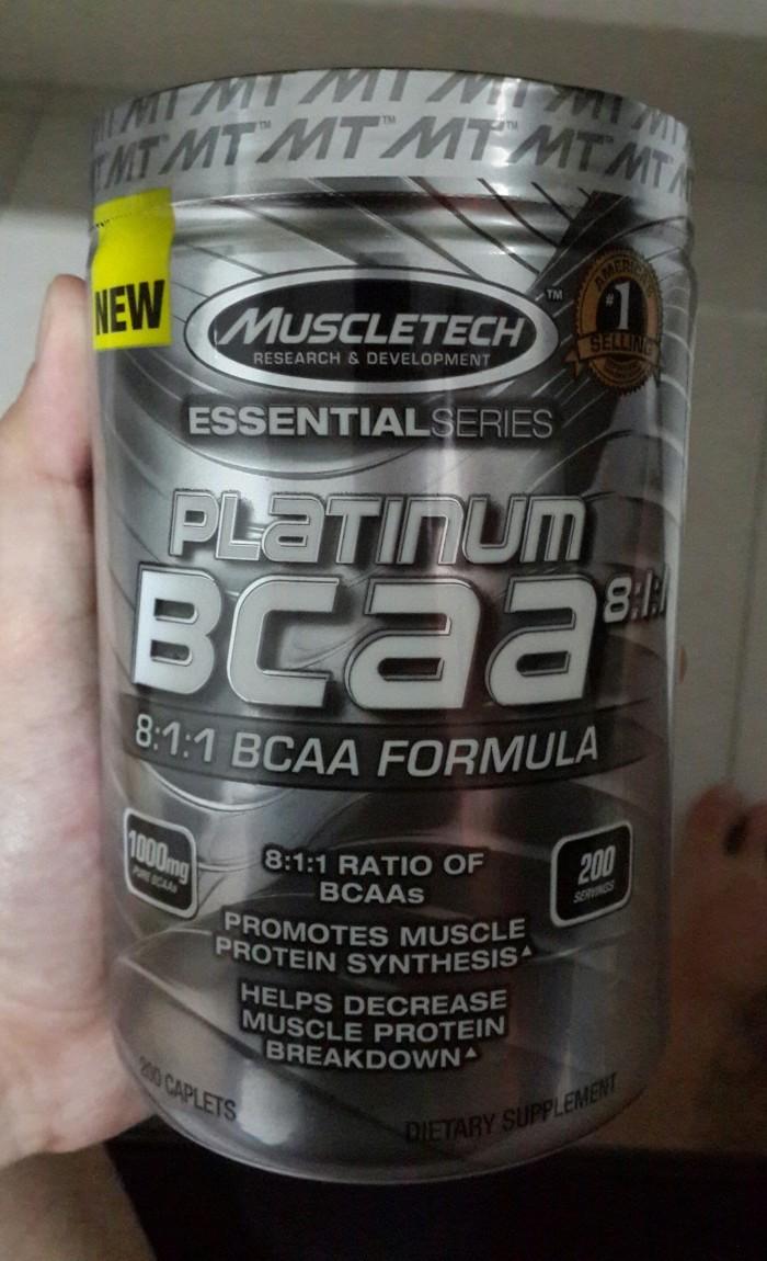 Jual Primax Supplement Muscletech Platinum Bcaa 200caps Essential Series