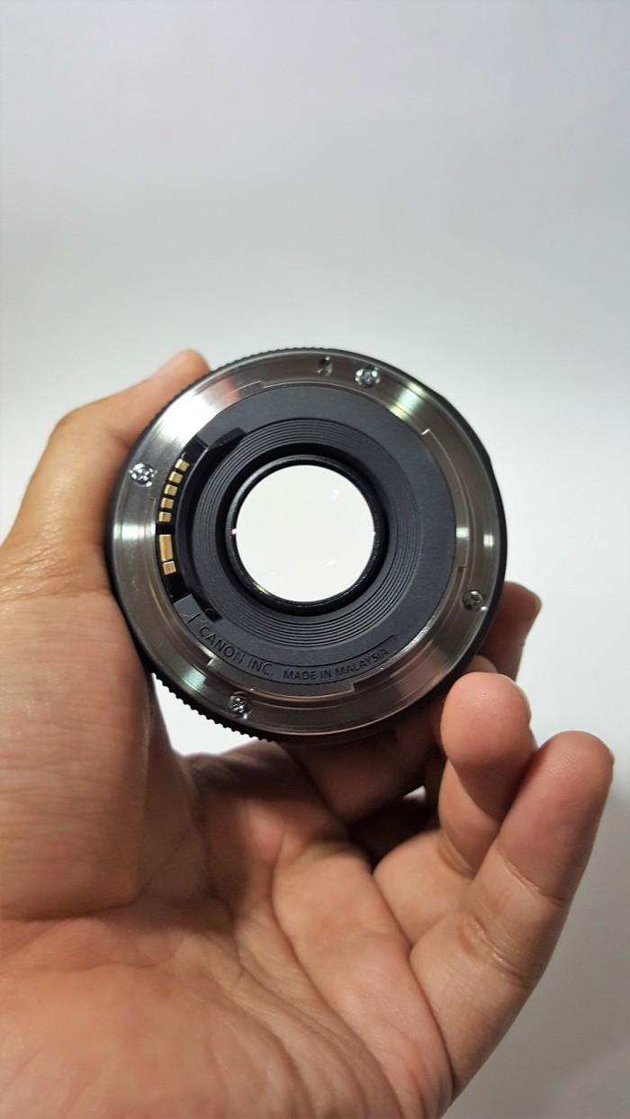 Jual Lensa Canon Ef 50mm F18 Stm Mulus Dan Lengkap Murakumo Hobby F 18