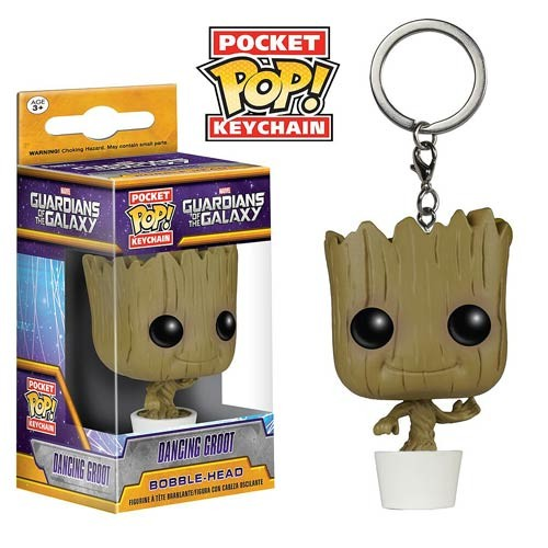 harga Funko Pocket POP! Keychain Guardians of the Galaxy - Dancing Groot Tokopedia.com
