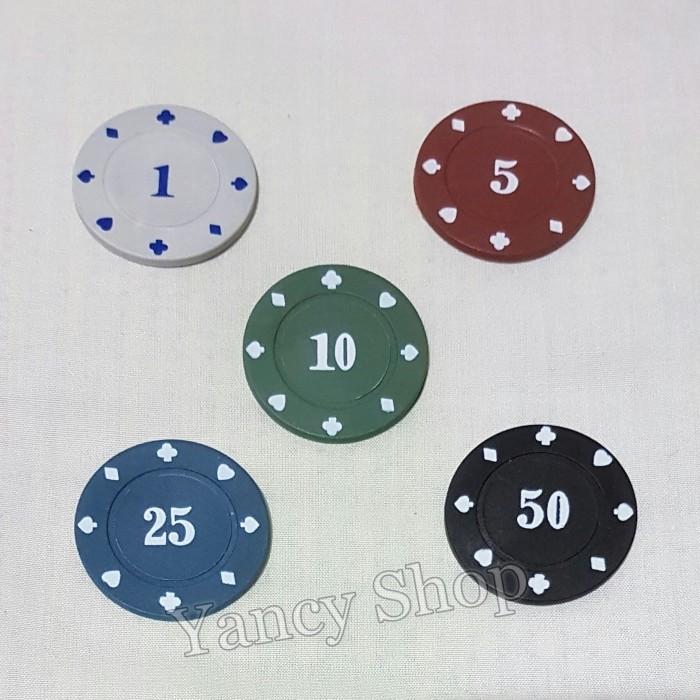 harga Kartu remi chip poker angka 10 import quality Tokopedia.com
