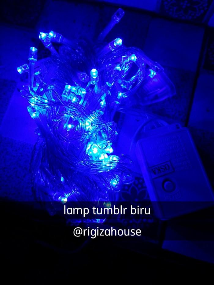 Desain Kamar Tidur Lampu Tumblr jual lampu tumblr led dekorasi kamar lampu tidur hias biru kab bandung barat rigiza fashion shop tokopedia