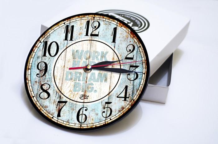 harga Jam dinding vintage kayu classic dengan design modern Tokopedia.com