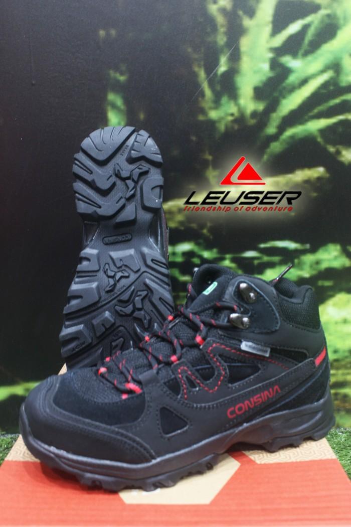 Jual Sepatu Gunung   Sepatu Consina Alpine Men Black - LeuserTheRock ... 29cb2b04ba