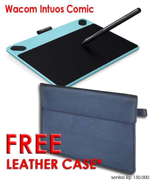 harga Wacom intuos comic pen & touch tablet small (cth490/b1 mint blue) Tokopedia.com