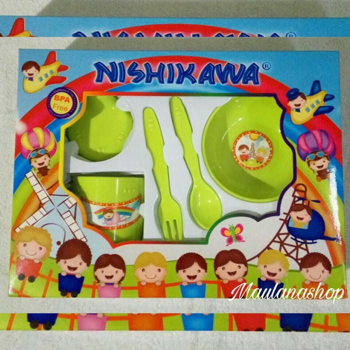 harga Feeding set nishikawa | gift set | tempat makan bayi | sedang Tokopedia.com
