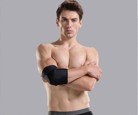 harga Elbow protector / deker / dekker siku lengan fitnes yoga senam basket Tokopedia.com