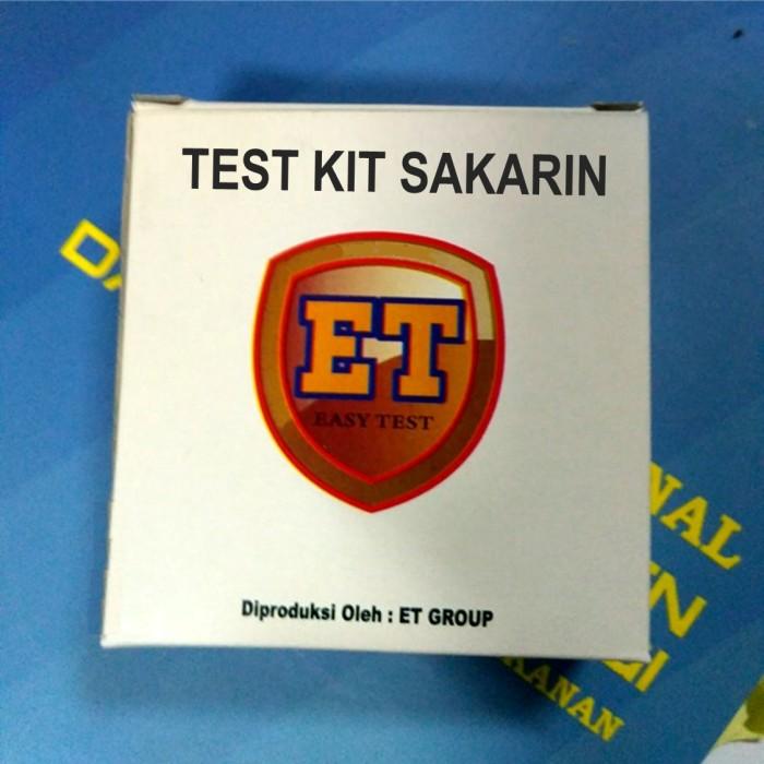Foto Produk Test Kit Pemanis Buatan Sakarin (Saccharin) dari easytest