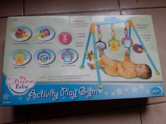 Jual Mainan Bayi Second Activity Play Gym merk RedBox - Bebina baby ... 2834106f45