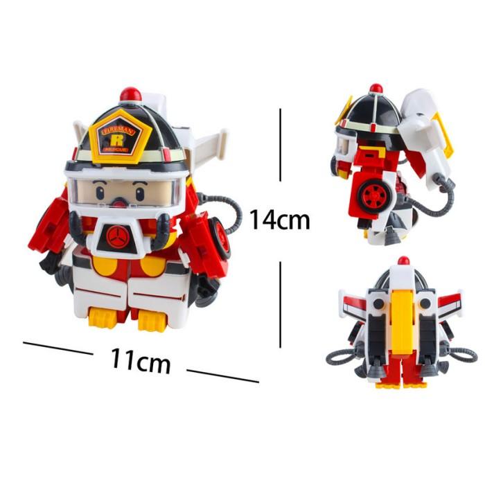 Mainan Anak Figure Robocar Poli Roy Action Pack Space