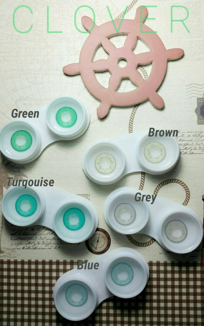 New clover softlens / normal only/ aquas product