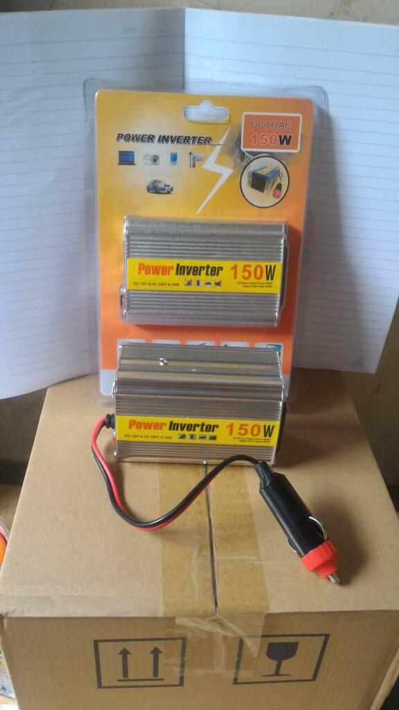 harga Power inverter 150w dc 12v to ac 220v ada port usb inverter 150 watt Tokopedia.com