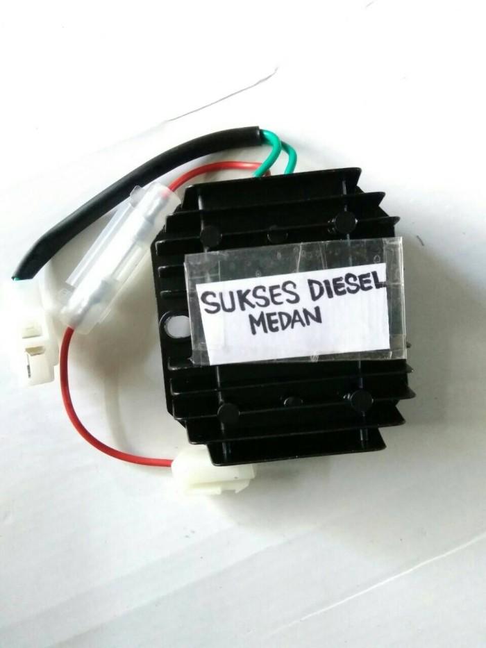 harga 186f kiprok cash / voltage regulator w/fuses genset silent 5kva/7kva Tokopedia.com