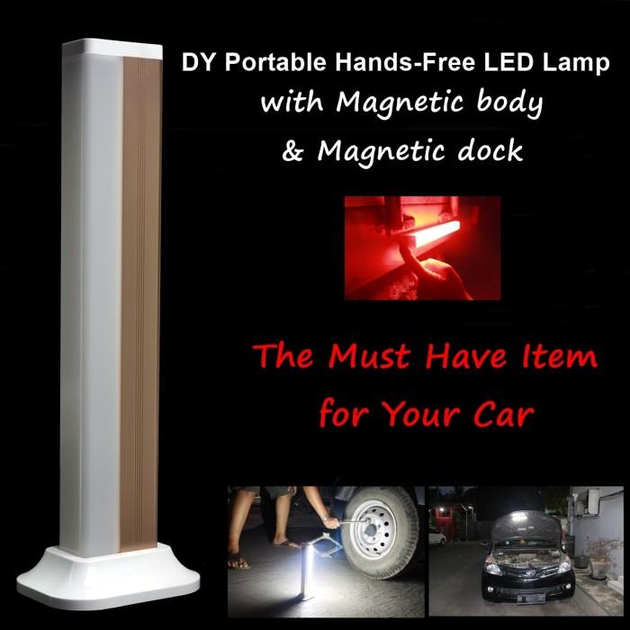 harga Portable lampu handfree sos mobil rumah led emergency (dy-yj008e) Tokopedia.com