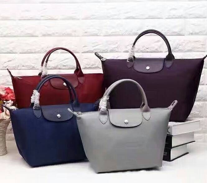 Longchamp Le Pliage Neo with Long Strap (Small) - Maroon
