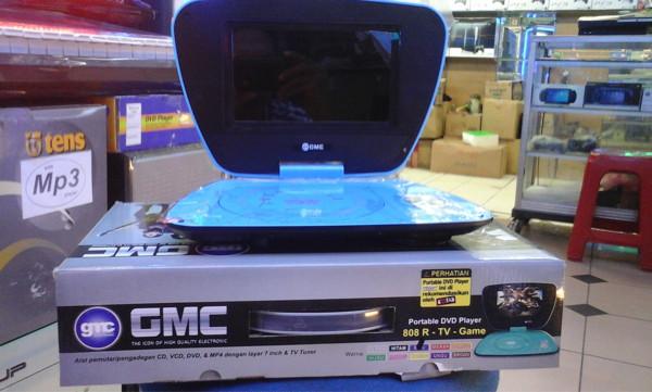 """harga Dvd Portable Gmc 7"""" Tokopedia.com"""