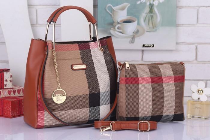 Tas Fashion Wanita Handbag Import Burberry Murah Qbre147