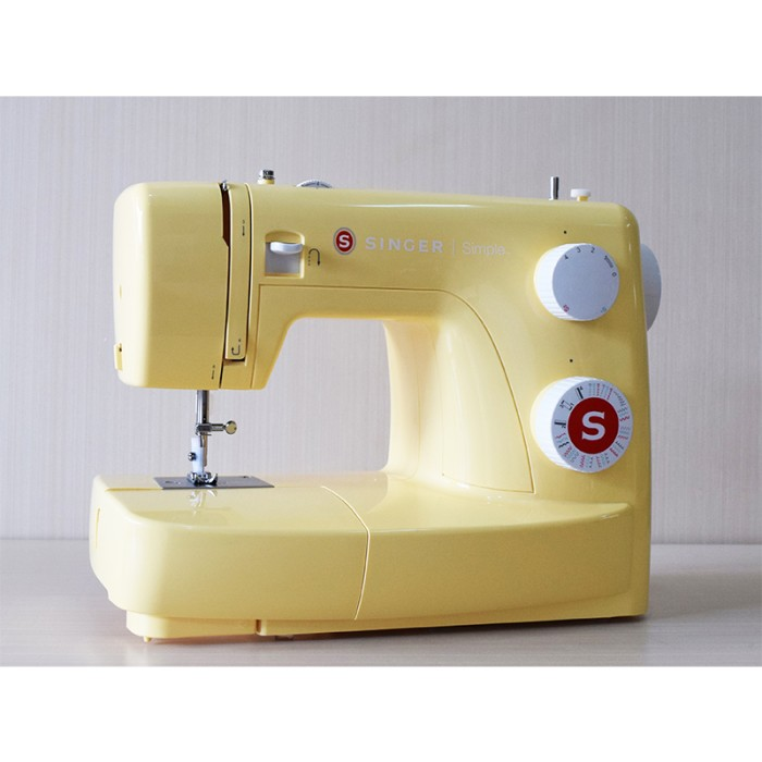 harga Singer 3223 simple (yellow) mesin jahit portable Tokopedia.com