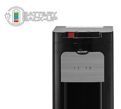 Sharp Dispenser Bottom Loading SWD-72EHL-BK .