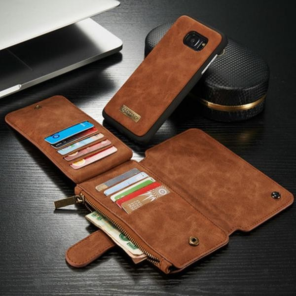 Foto Produk Caseme samsung galaxy S7 Wallet Card Case leather flip cover flipcover dari acosonic