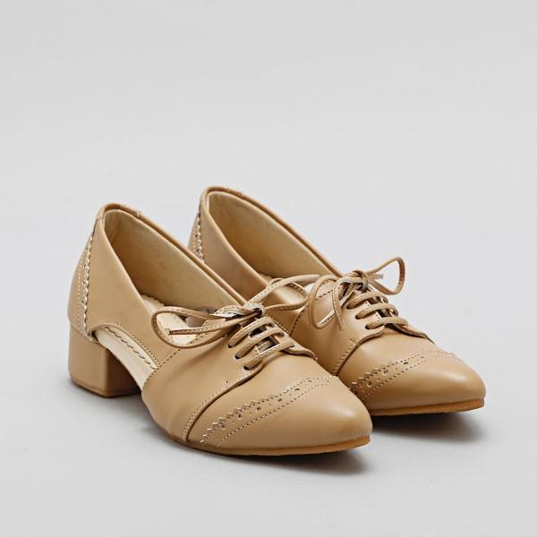 Hemera nude mini heels