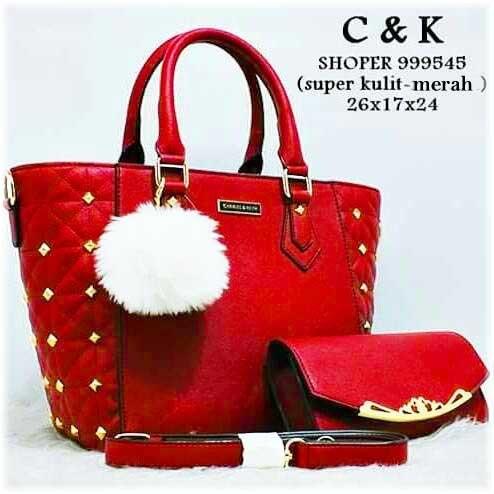 Tas Branded Charles keith Merah Marun - Harga Baru Produk Terhangat ... 2f54ebc167