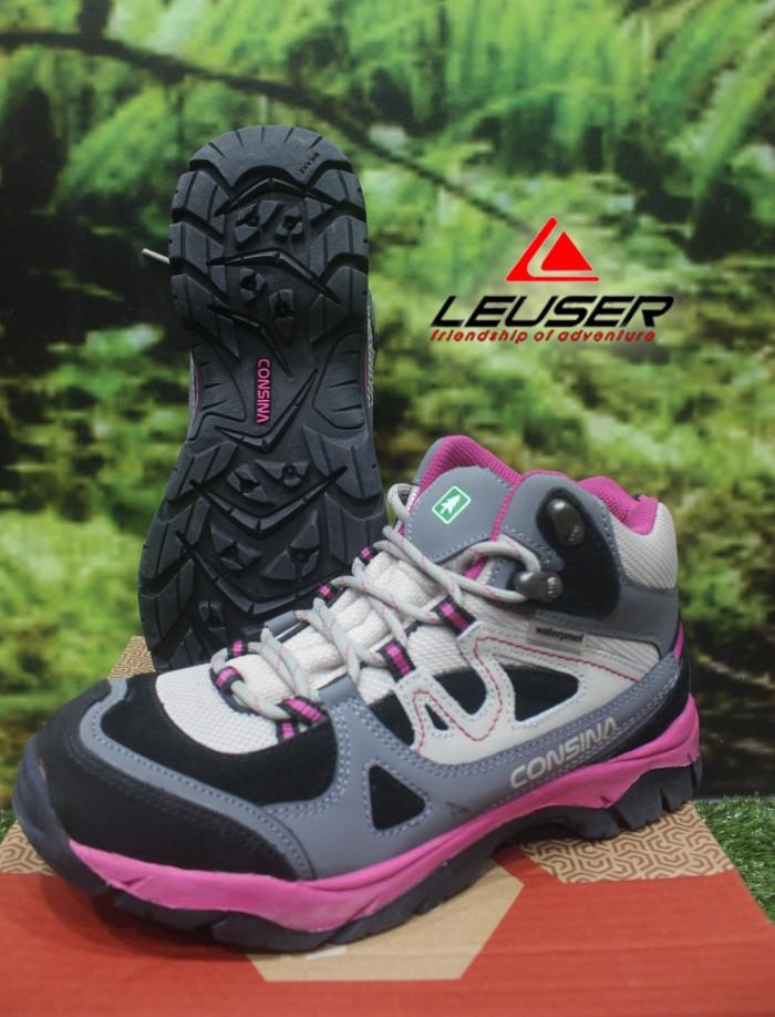 Jual Sepatu Gunung   Sepatu Cewek   Sepatu Consina Alpine Women Pink ... 9c87d5f874