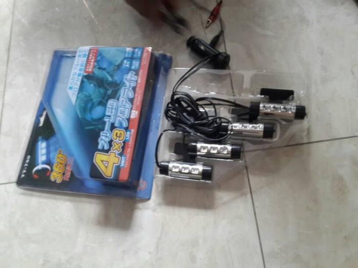 harga Led kolong dashboard / lampu footstep mobil model lighter ty-780 Tokopedia.com
