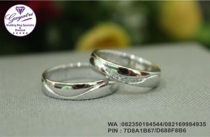 cincin pernikahan gayatri perak 925 rhodium