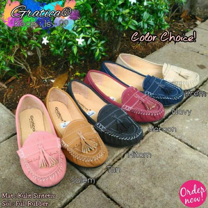 Sepatu Flat Shoes Gratica Is 09 - Navy