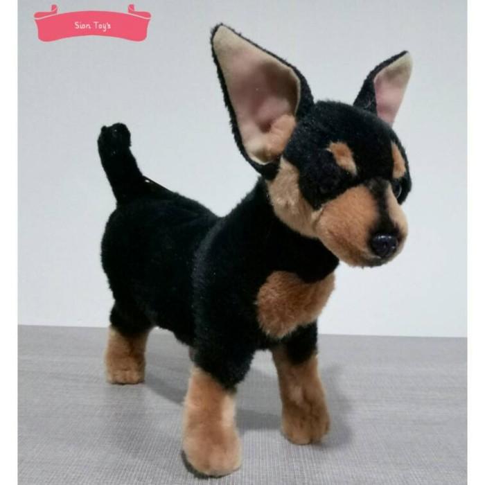 harga Boneka anjing mini pinscher Tokopedia.com
