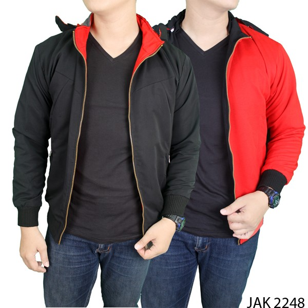 Gudang Fashion Jaket Pria Casual Hitam - Referensi Daftar Harga ... a397860629