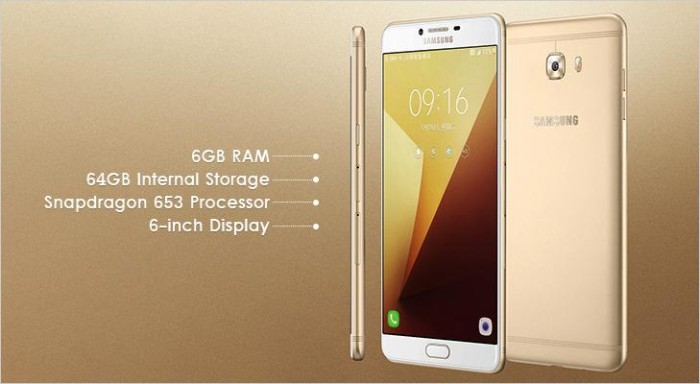 SAMSUNG GALAXY C9 PRO Dual SIM 64GB RAM 6GB 100% New Original