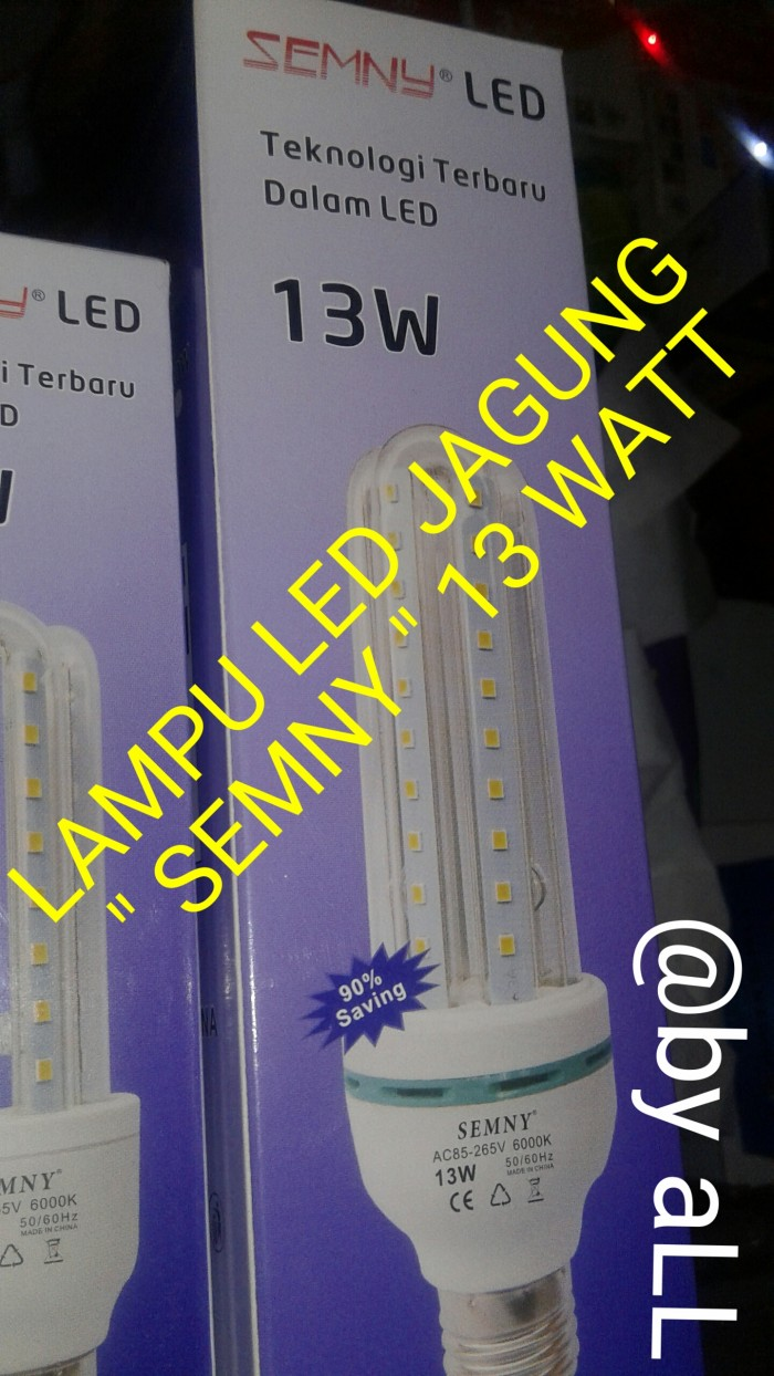 Jual Lampu Led Jagung Cek Harga Di Semny 9 Watt 13