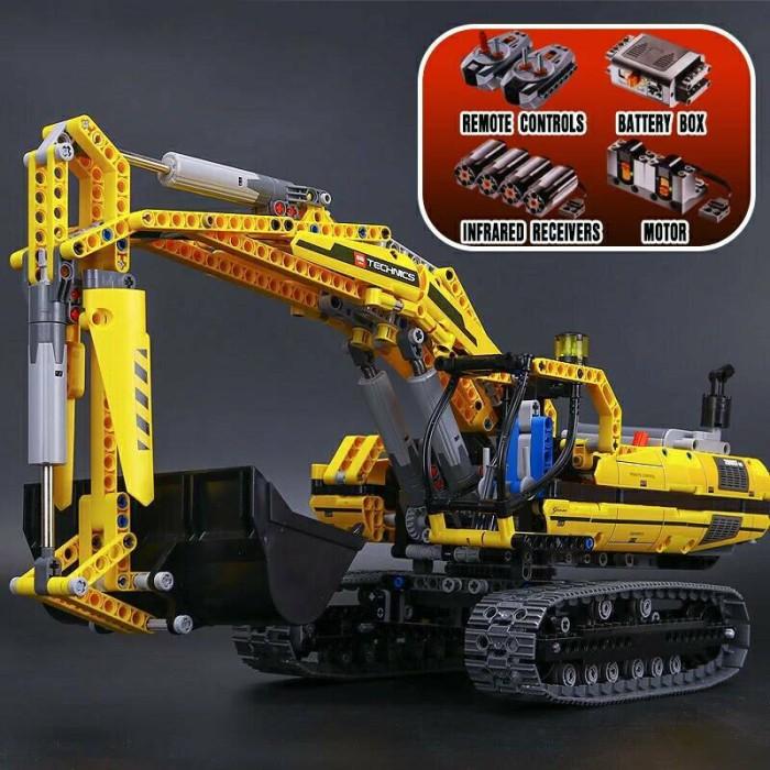 Jual Brick Lego Lepin 20007 Technic Excavator Model With Remote