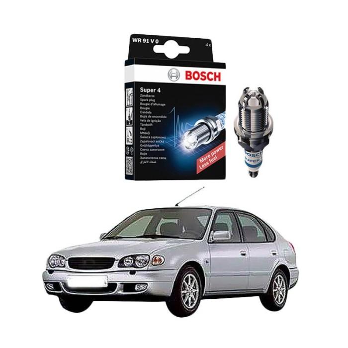 harga Bosch super 4 fr78 busi mobil for toyota corolla 1.6 2001 Tokopedia.com